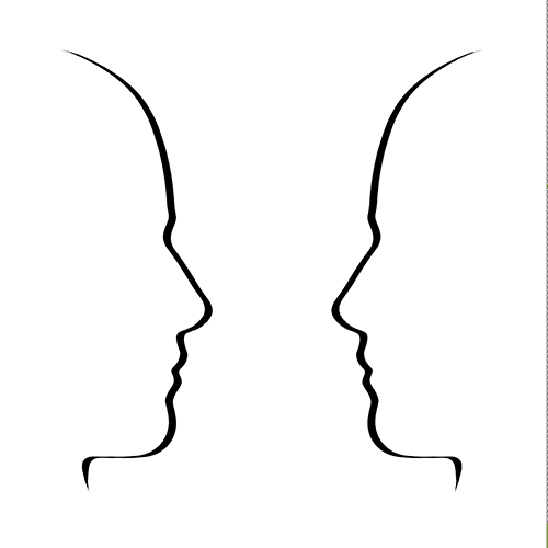 illustrated face to face