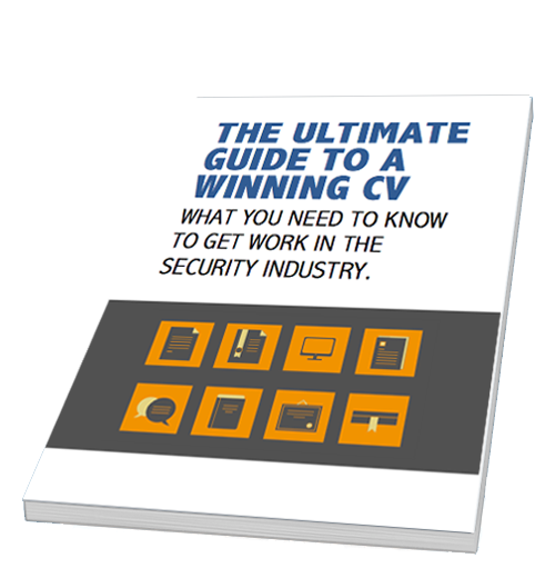 cover image of the Ultimate Guide to a Winning security industry CV