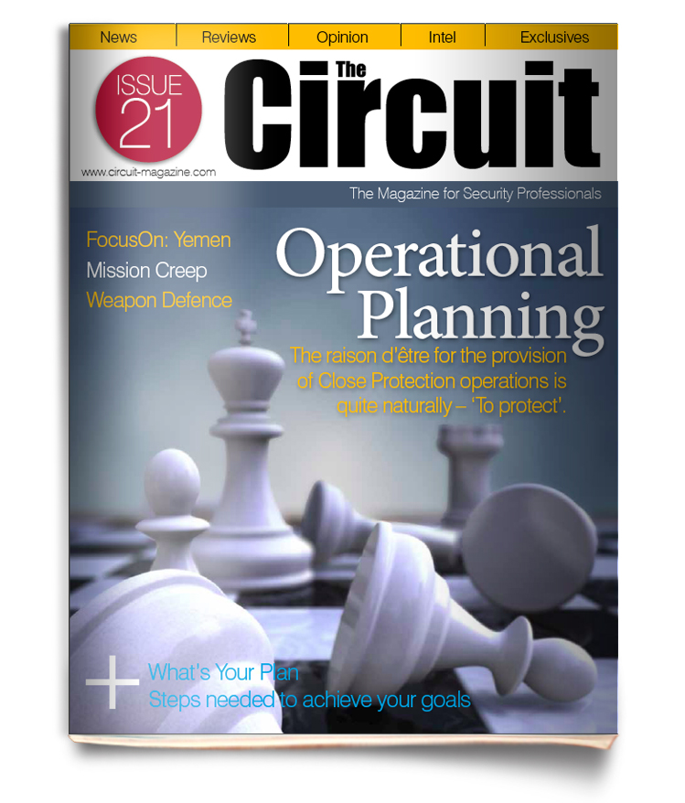 Cover image of Circuit magazine - Issue 21