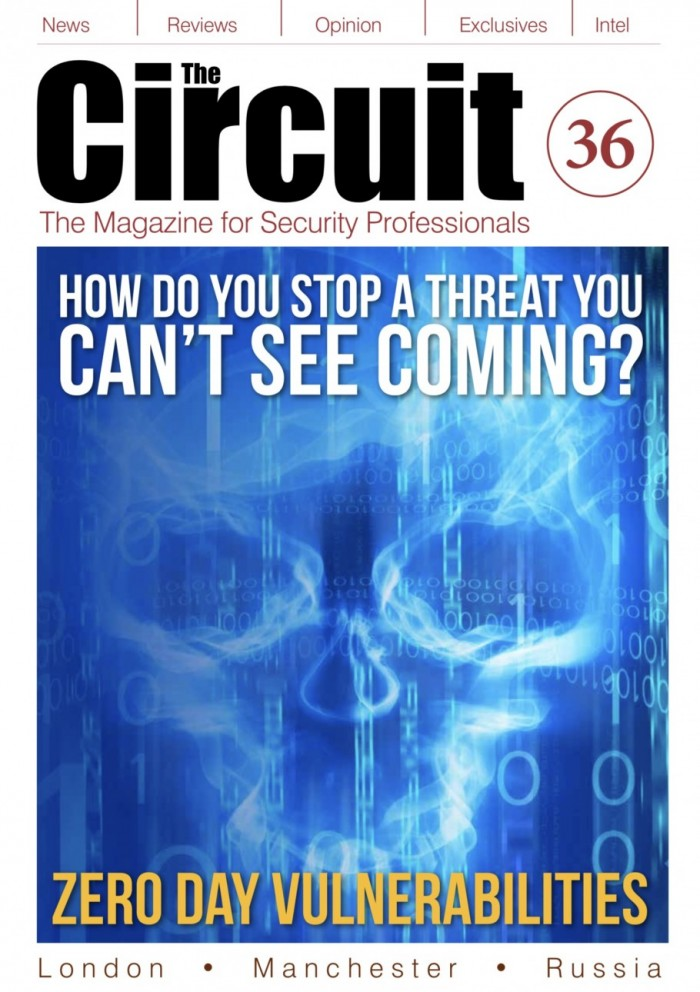 Cover image of cyber security for Circuit magazine issue 36