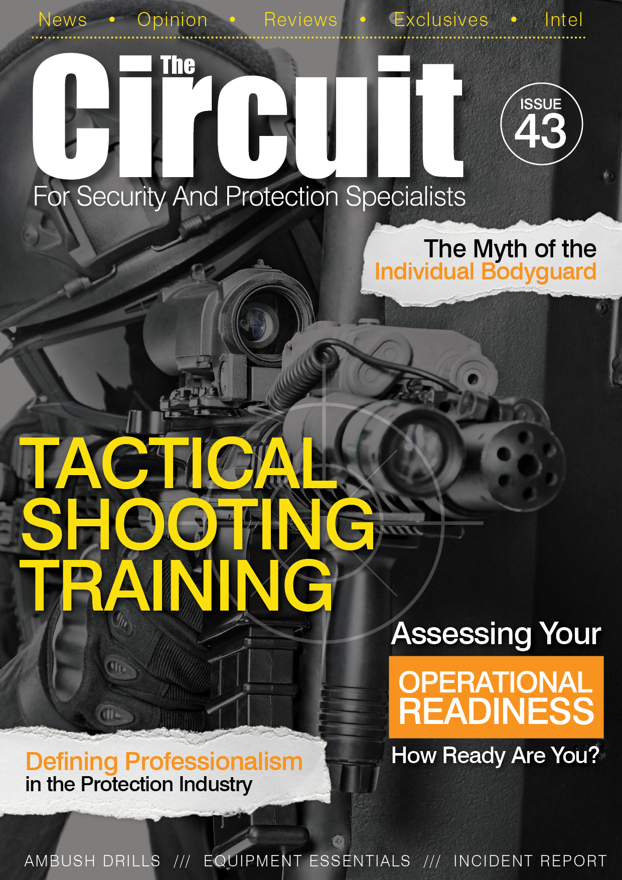 Cover of issue 43 Circuit Magazine