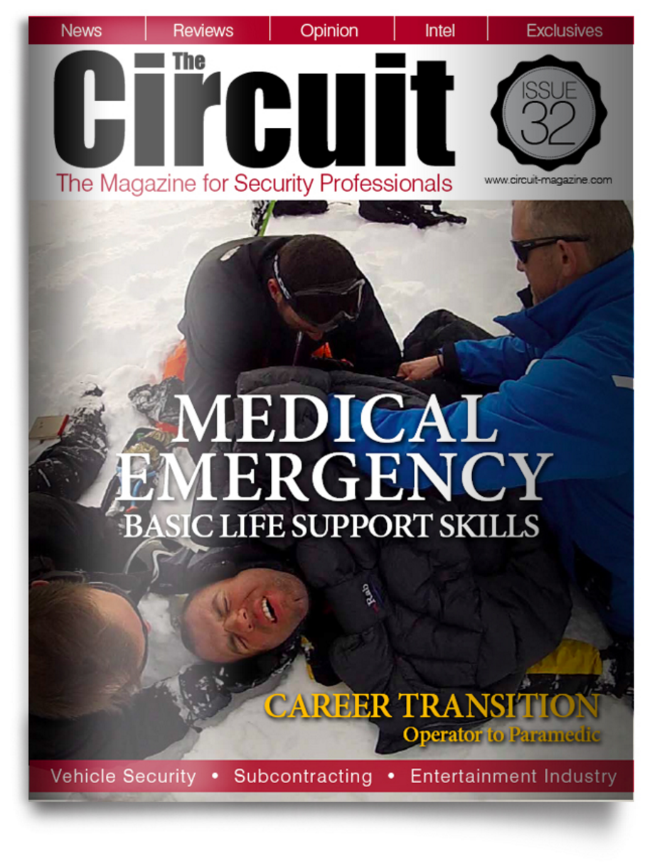 Circuit magazine issue 32 - cover image