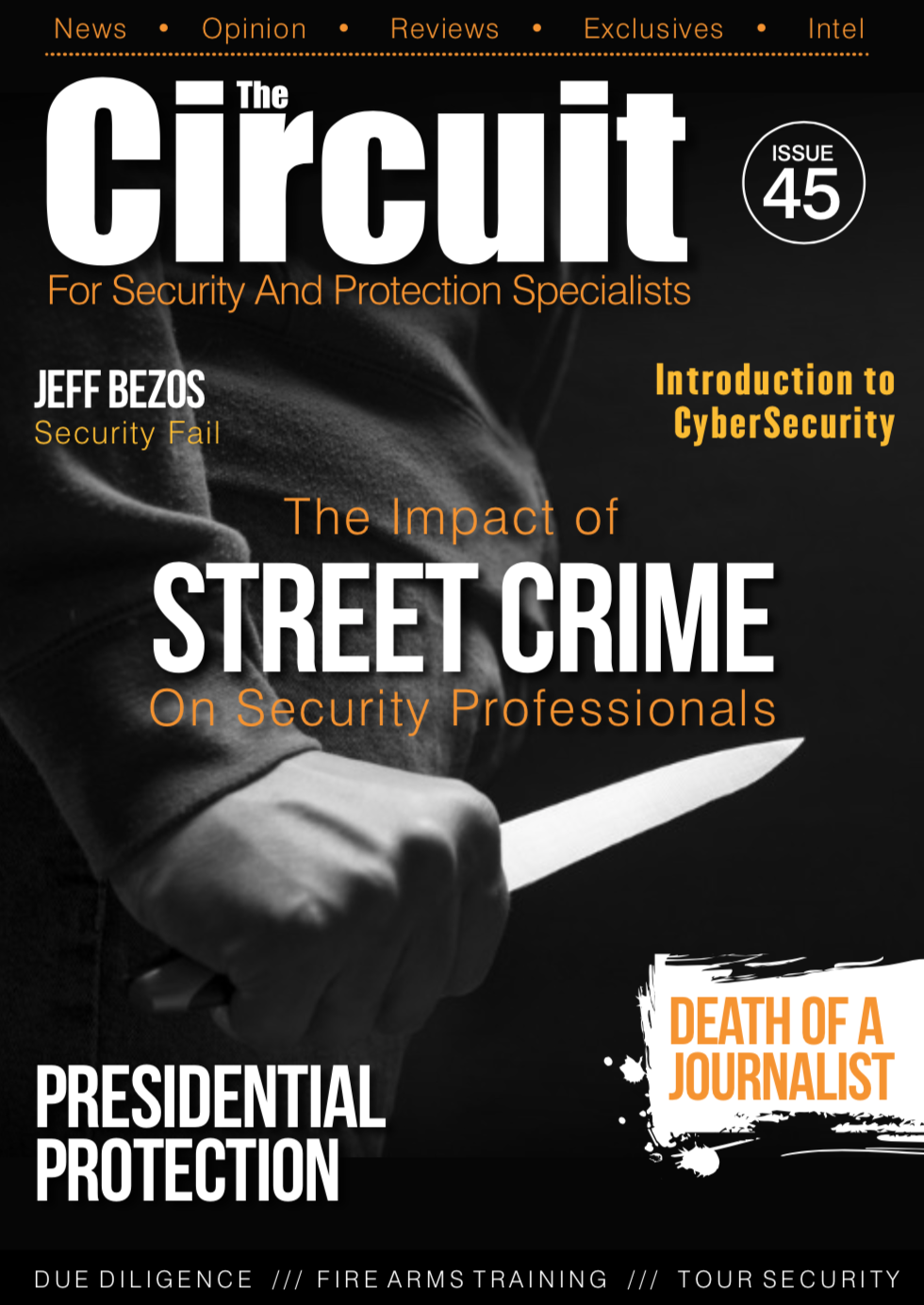 Cover of issue 45 Circuit Magazine